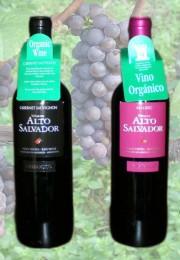 Vino orgánico Alto Salvador