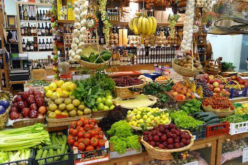 Mercado orgánico en Buenos Aires