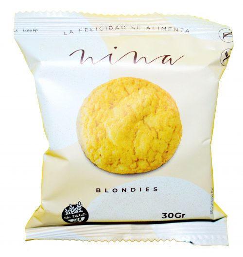galletitas nina blondies individual