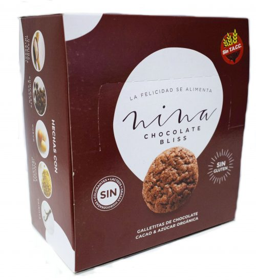 galletitas nina chocolate bliss pouch