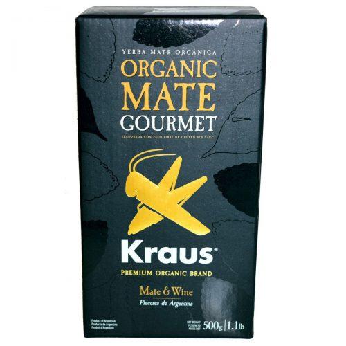 yerba mate organica kraus gourmet