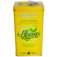 yerba mate organica lata kraus