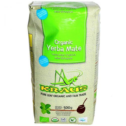 yerba organica kraus pura hoja